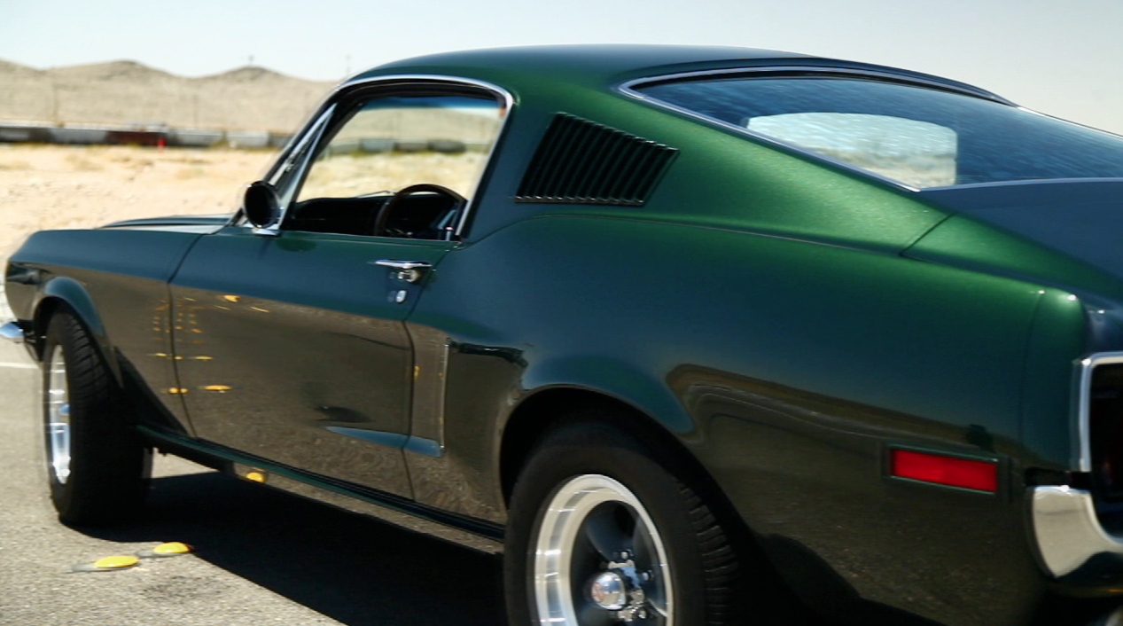 Mcqueen For A Day 1968 Ford Mustang From The History Channel S Counting Cars Read More Parts List This Car
