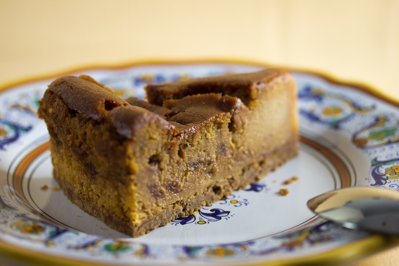 Vegan Caramel Apple Cheesecake #caramelapplecheesecake