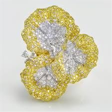 yellow diamond ring - Google Search