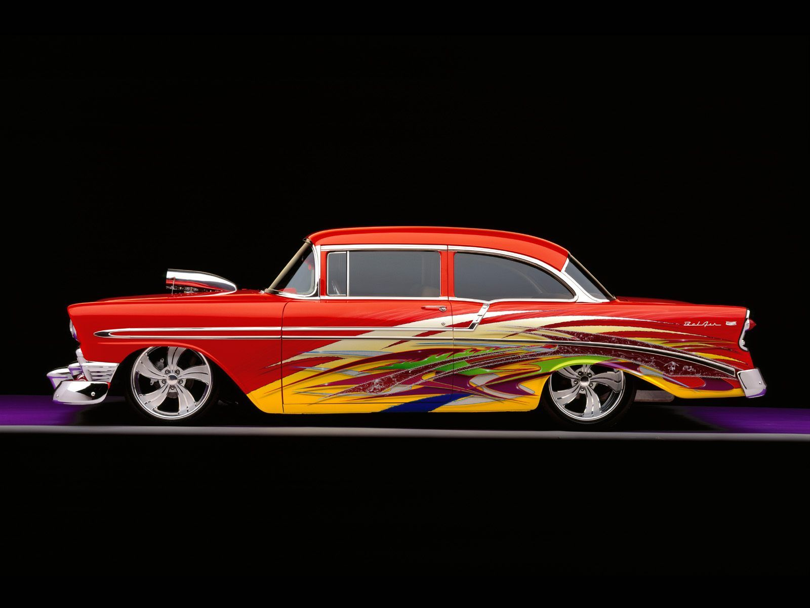 Custom Chevy Bel Air  AUTOMVILES  Pinterest  Chevy Cars and