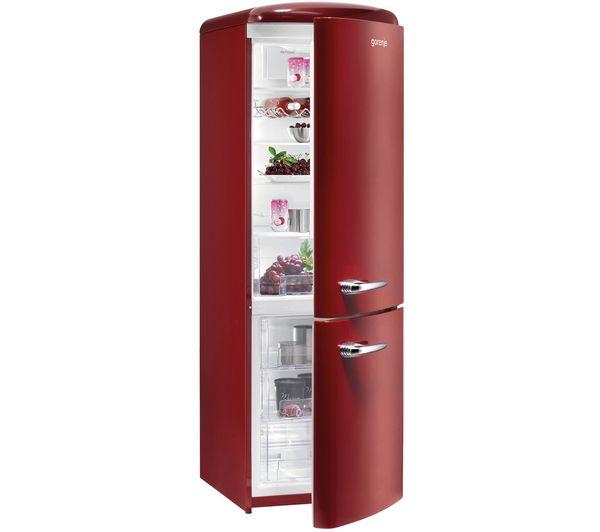 Gorenje Retro Red Fridge Freezer Kitchen Dining