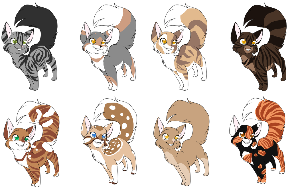 ThunderClan cats 8 by Angelpaw33 on DeviantArt in 2020
