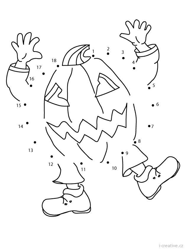 Spojovacka Halloween Dyne Pracovni Listy Pinterest Halloween