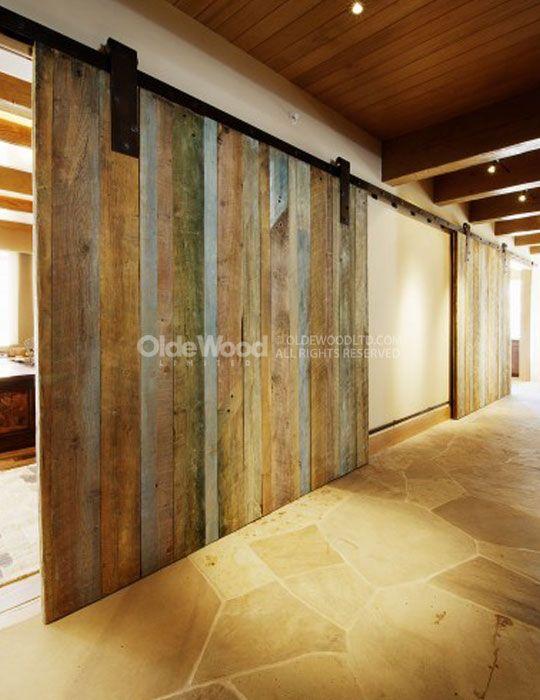 Reclaimed Wood Wall Treatments How To Use Barn Siding Olde