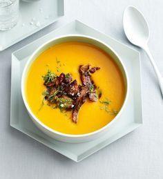 Limetten-Süßkartoffel-Suppe Rezept