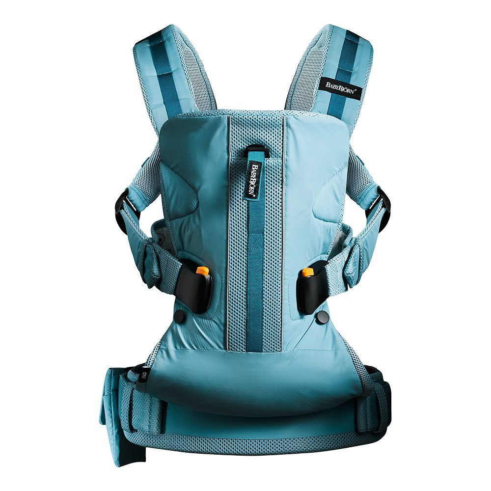 BabyBjorn One Outdoors Baby Carrier, Turquoise/Blue (Turq/Aqua)
