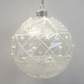 decorating christmas clear ballsclear glass ball ornaments bulk xmas - Christmas Ball Ornaments Bulk