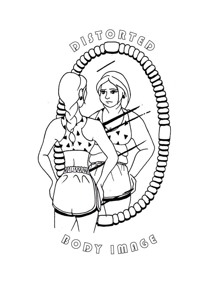 Free Coloring Page Positive Body Image Body Image Free