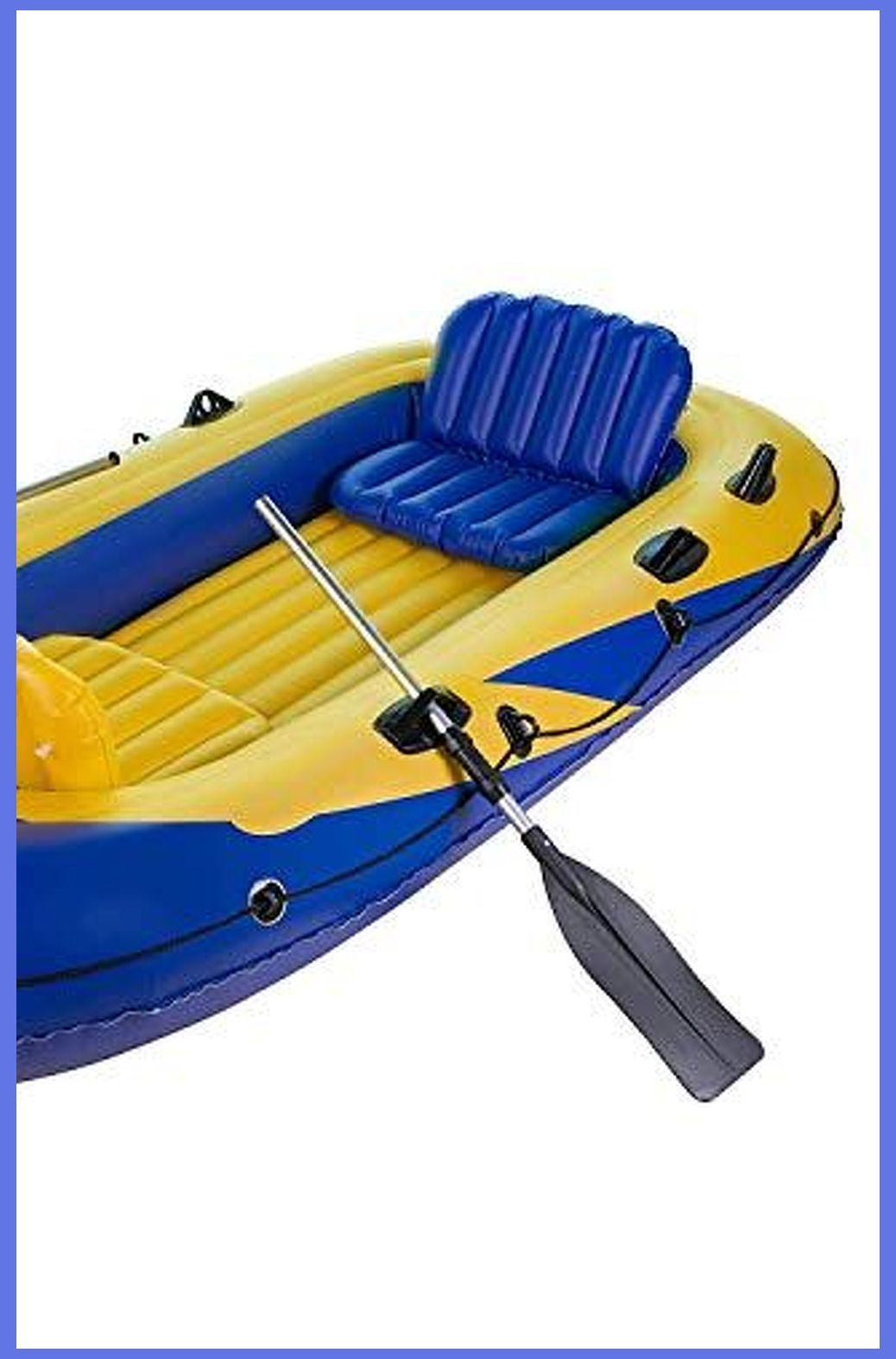 Inflatable Fishing Kayak 2 Person Sable 4 Person Inflatable Boat Set With Aluminum Oars And In 2020 Inflatable Fishing Kayak Inflatable Kayak Kayaking Gear