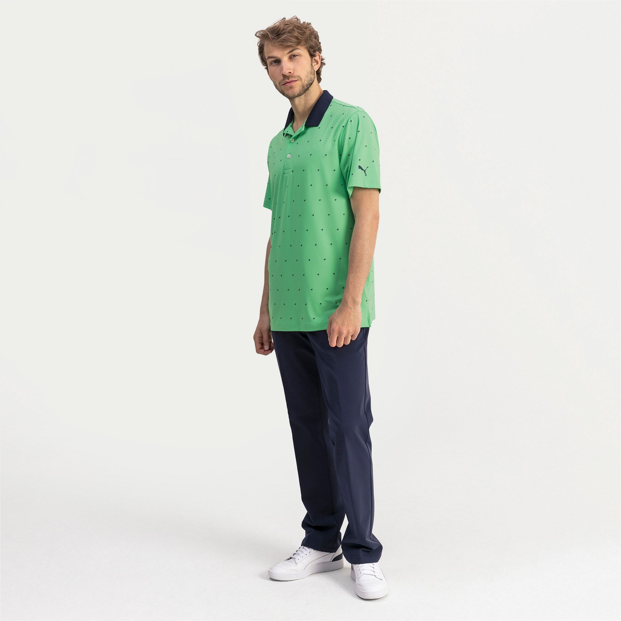PUMA Skerries Men's Golf Polo Shirt, Irish Green, size 3X Large, Clothing