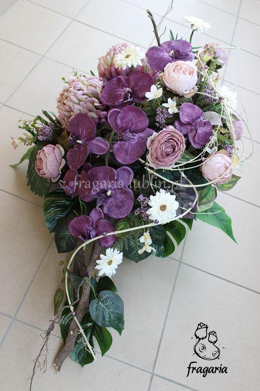 Zgaszone Odcienie Fioletu I Krem Florystyka Funeralna