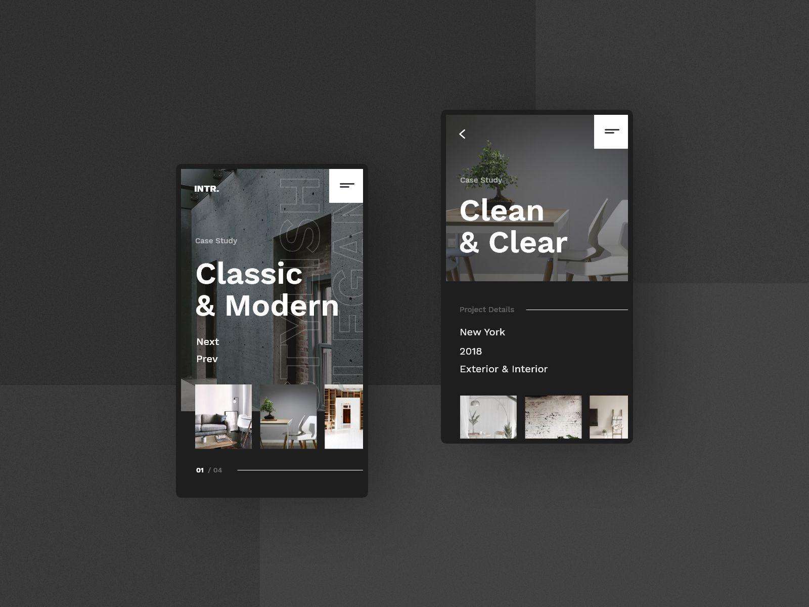 8 Intertiorstudio Mobile Website Concept Studio Interior Design Interior Phone Mobile App Ho Real Estate Web Design Web Design Inspiration Web Design Agency