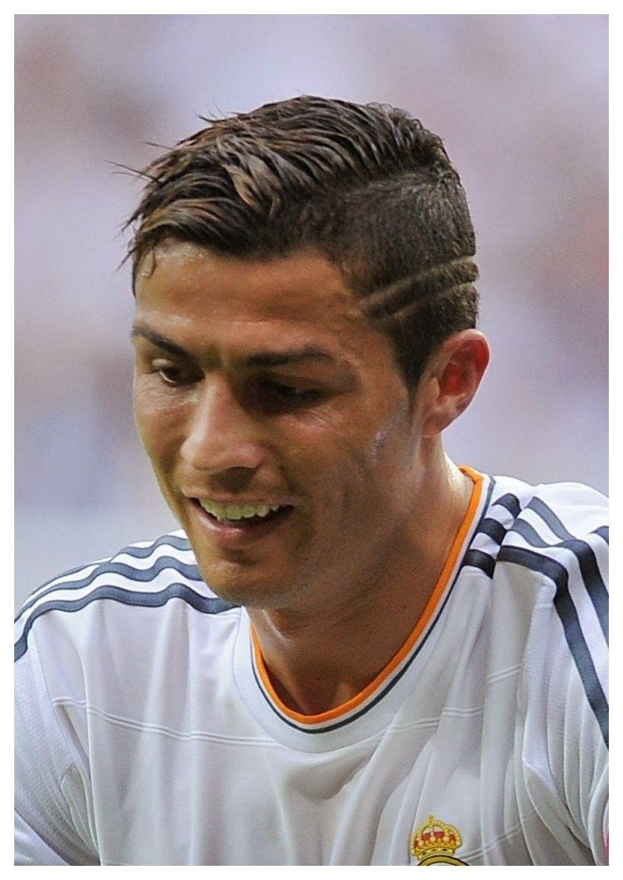Cristiano Ronaldo Look Book Lines Haircut Mens Hairstyle