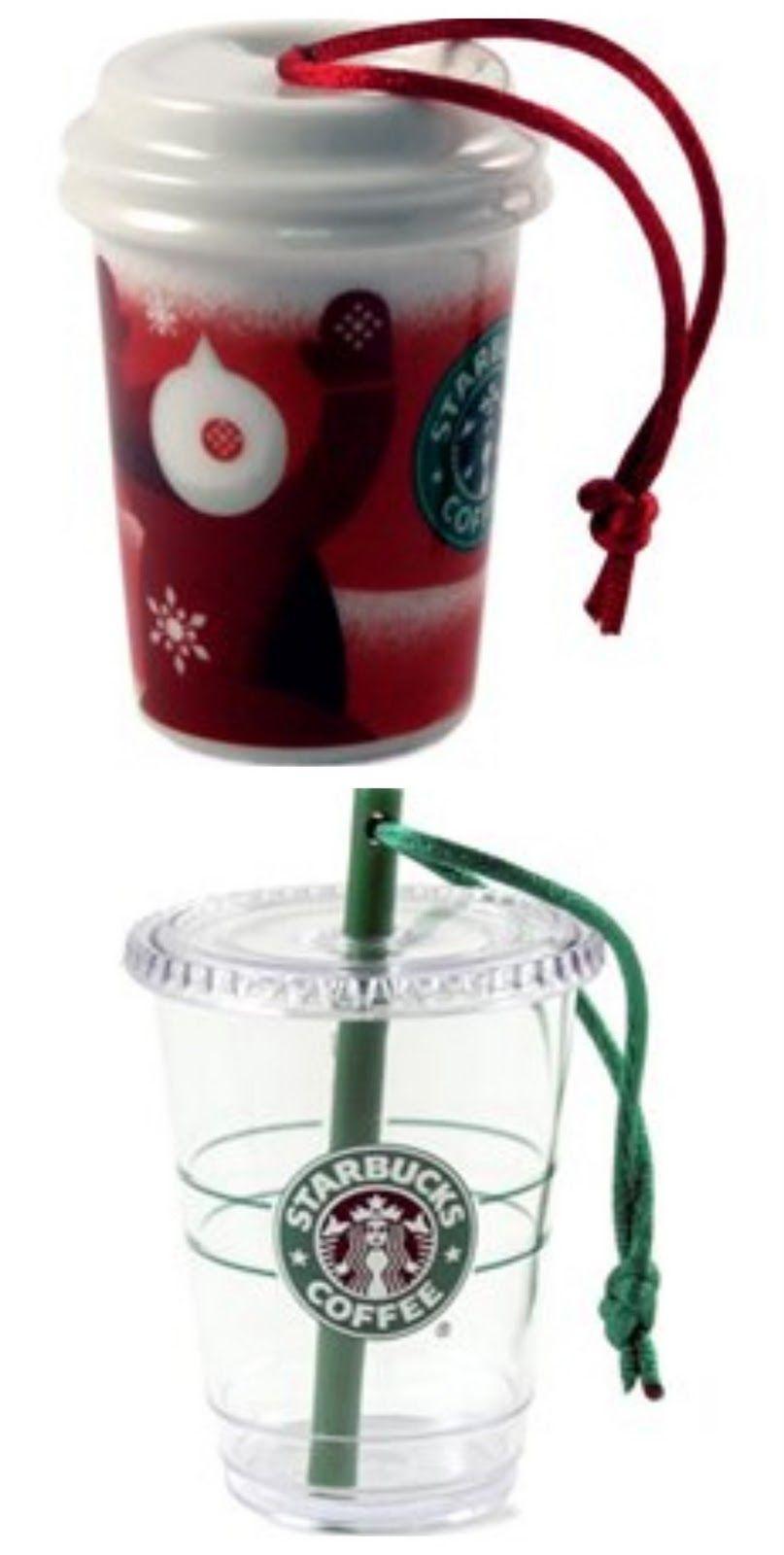 Starbucks ornaments | FUN THINGS | Pinterest | Starbucks, Ornament ...