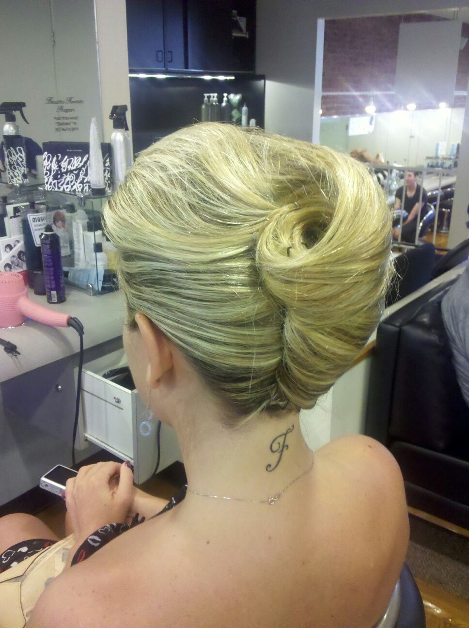 A perfect formal design by kristen ball of dellaria salons kenmore