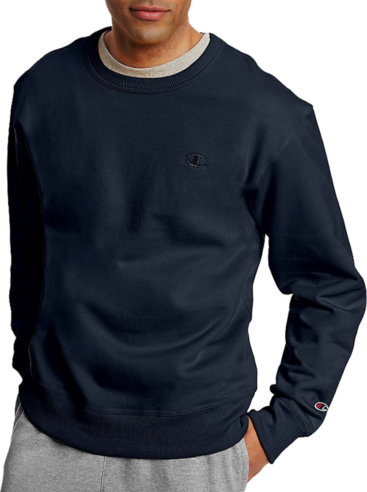 98d03c847946 Champion Men s Powerblend Fleece Crewneck Sweatshirt
