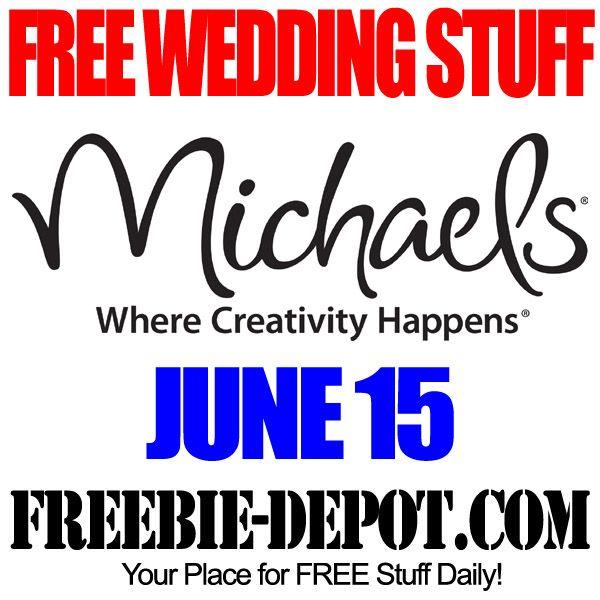Free wedding stuff michaels free wedding stuff pinterest free wedding stuff michaels junglespirit Choice Image