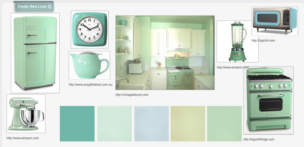 Mint green retro kitchen minty green pinterest retro Very light mint green paint