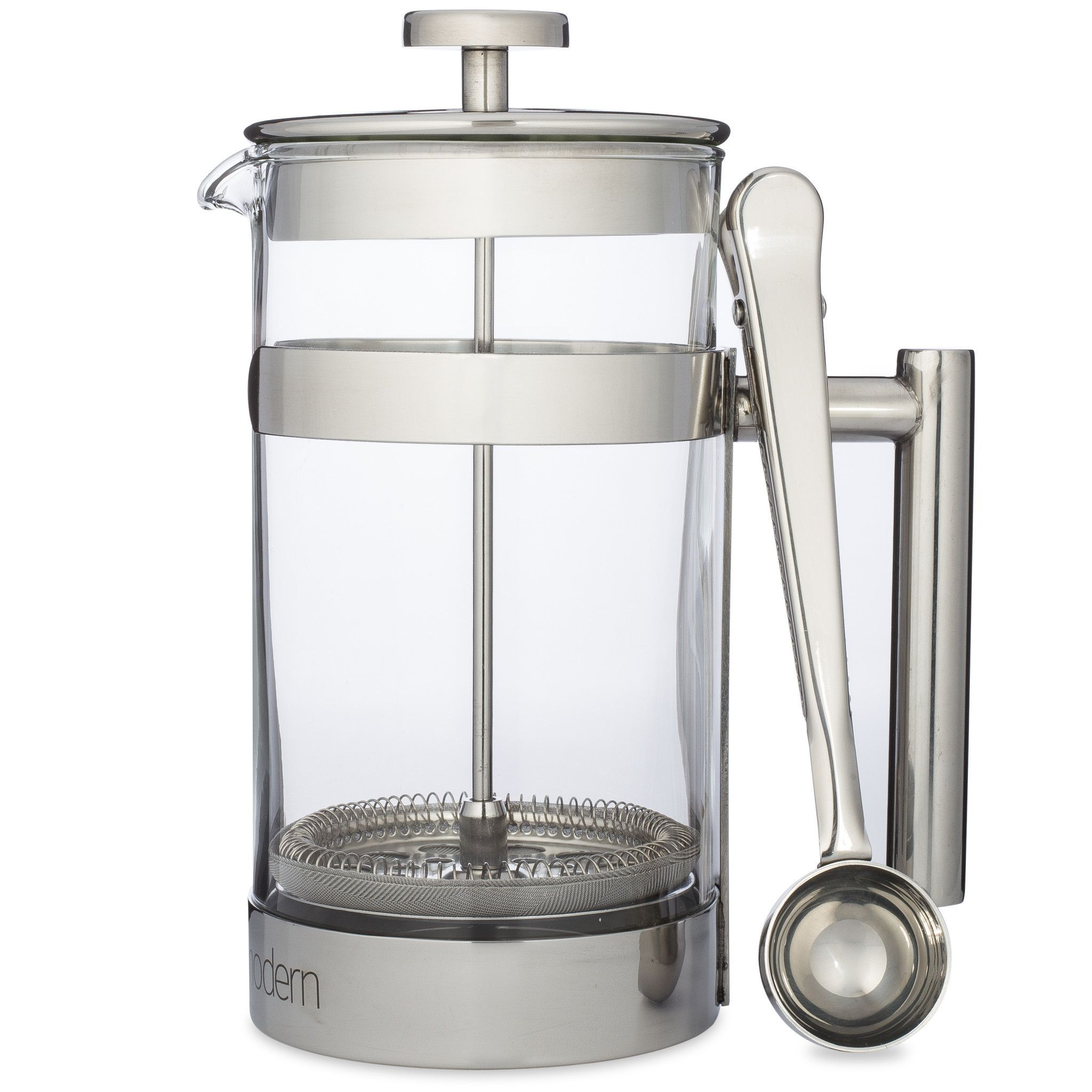 French Press 1 Liter DoubleFilter Coffee Maker with