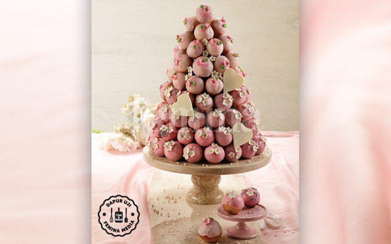 Resep Donut Tower Yang Manis Dan Gurih Resep Natal Christmas Kue Resep Sarapan