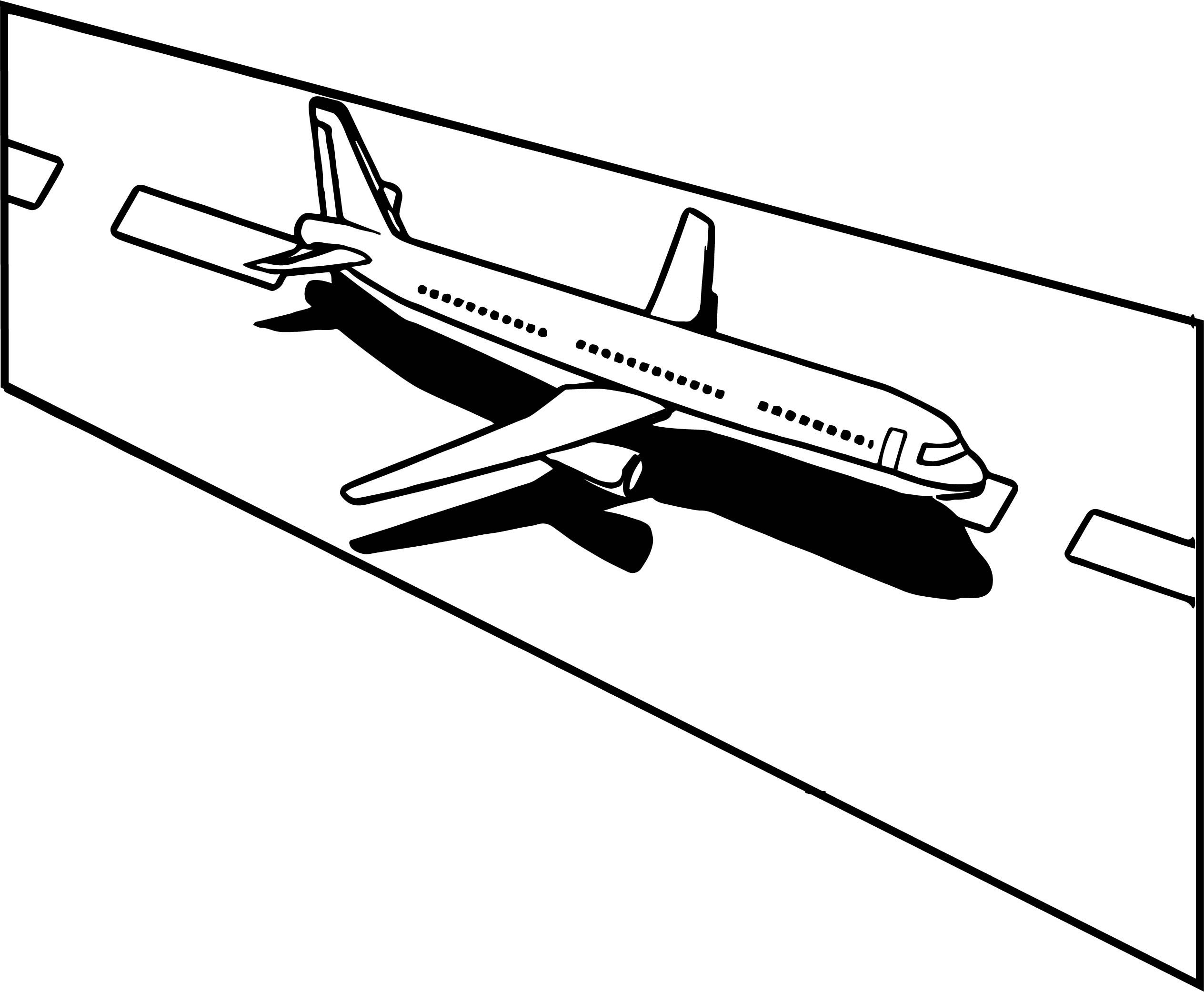 Cool Land An Airplane In An Emergency Coloring Page Train Coloring Pages Summer Coloring Pages Coloring Pages