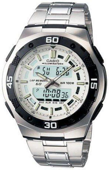 5b8449d3457 Casio General Men s Watches Standard Active Dial AQ-164WD-7AVDF - WW ...