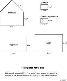 Image Result For Gingerbread House Template Mary Berry Gingerbread House Template Gingerbread House Template Printable Gingerbread House Parties