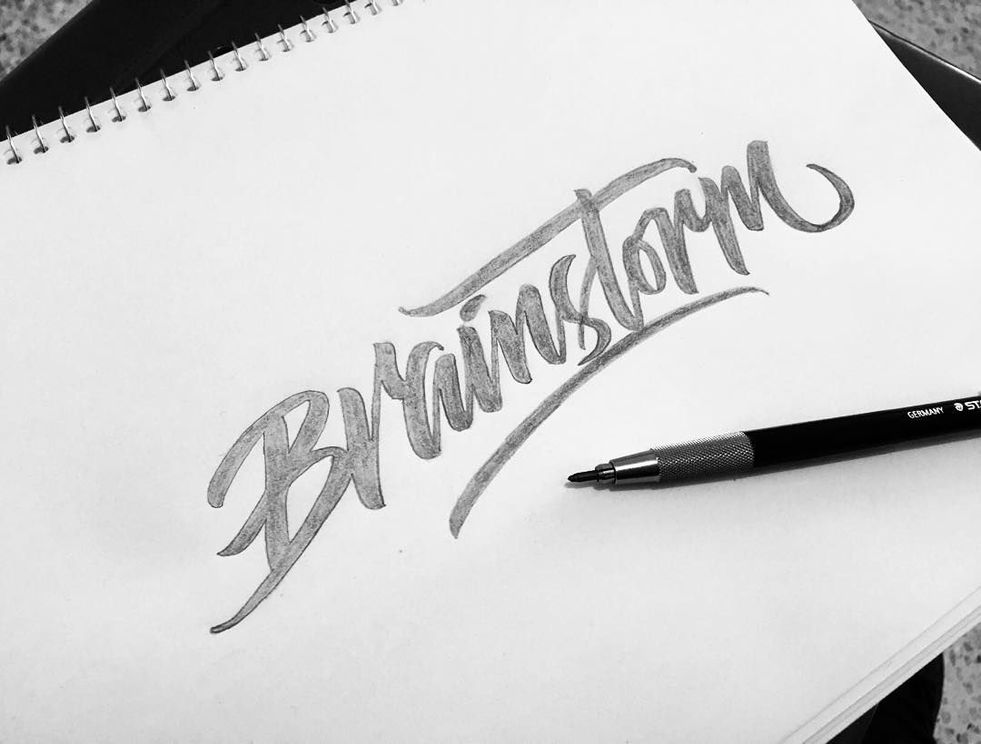 Awesome logos with script typography design shack