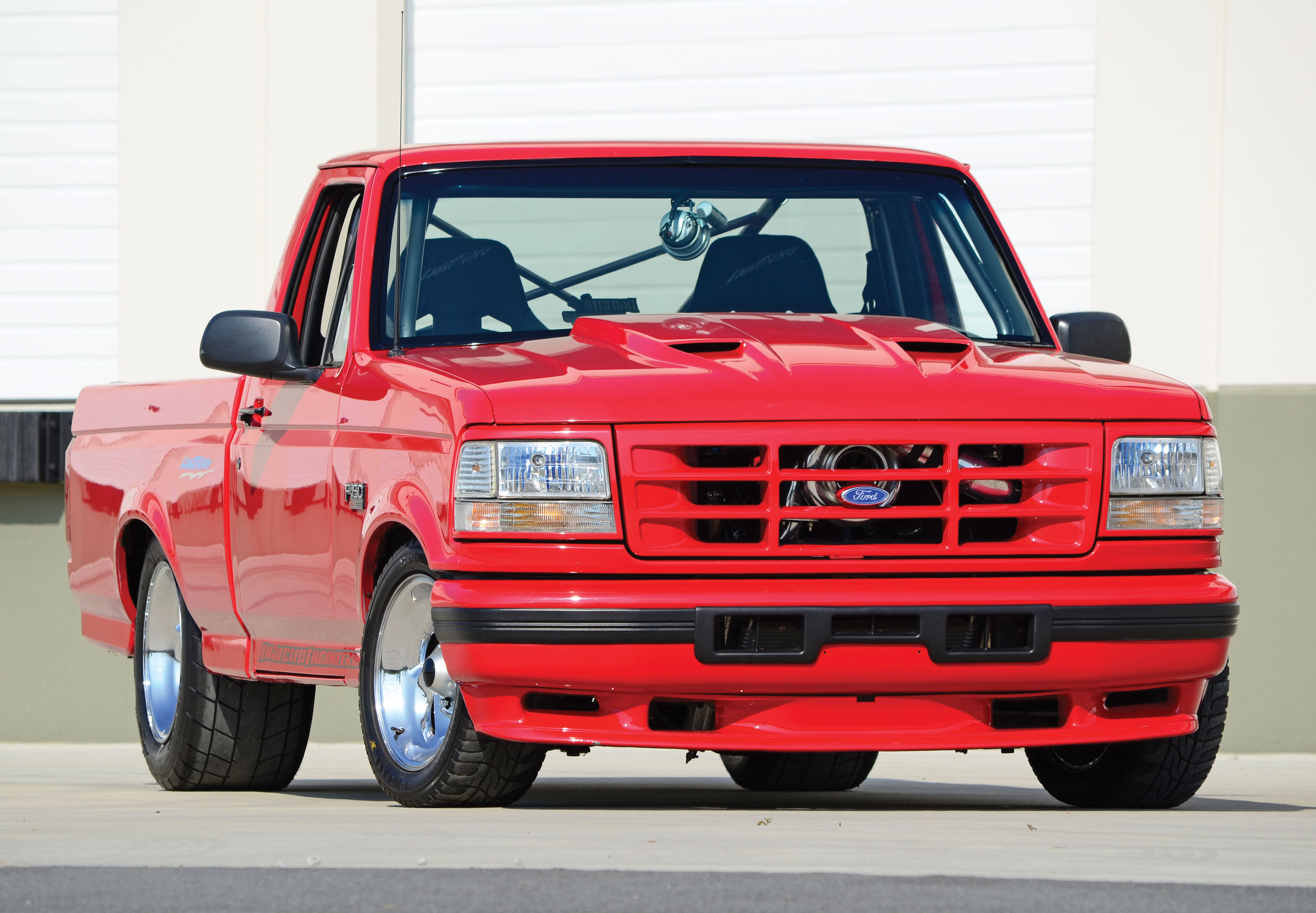 1993 ford lightning force of nature muscle mustang fast
