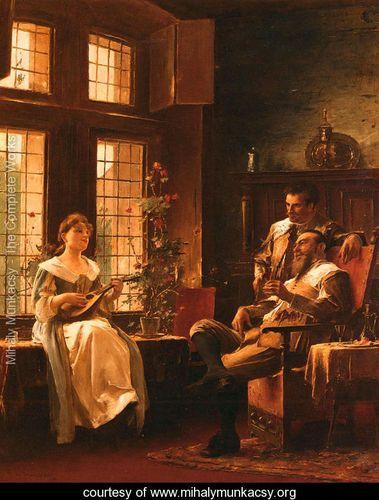 A Tender Chord - Mihaly Munkacsy - www.mihalymunkacsy.org