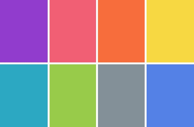 Neon paint colors for bedrooms - Bright Color Palettes On Pinterest Color Palettes Vintage Color Pa
