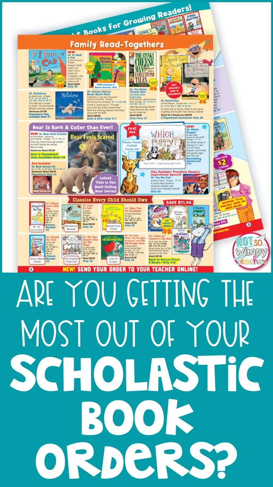 Are You Getting The Most Out Of Your Scholastic Book Order 3rd Grade Books Library Activities Teacher Blogs