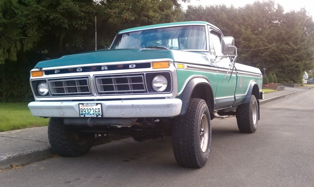 1974 f250 highboy truck my 77 ford ranger f250 4x4 ford truck