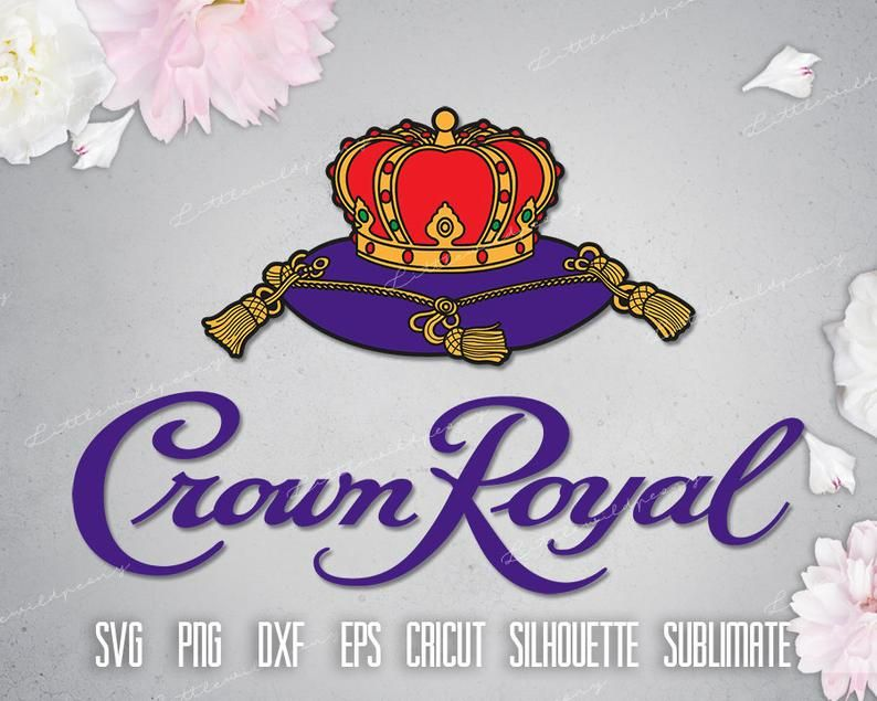 Unofficial Crown Royal Logo Svg Label Gift Whiskey Logo Etsy Royal Logo Crown Royal Crown Royal Bags