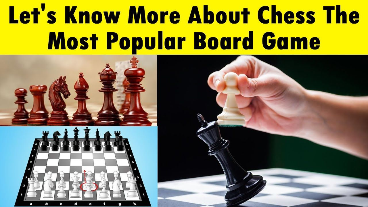"""All you want to know about popular board game """"Chess"""" in"""