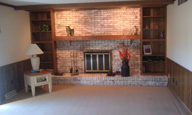 Mantles On Brick Fireplaces Help Installing Tv Over My Fireplace