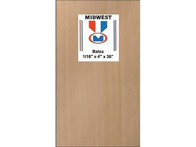 Other Wood and Project Materials 183160: Midwest Balsa Sheets 1 16 X 4 X 36 -> BUY IT NOW ONLY: $40.42 on eBay!