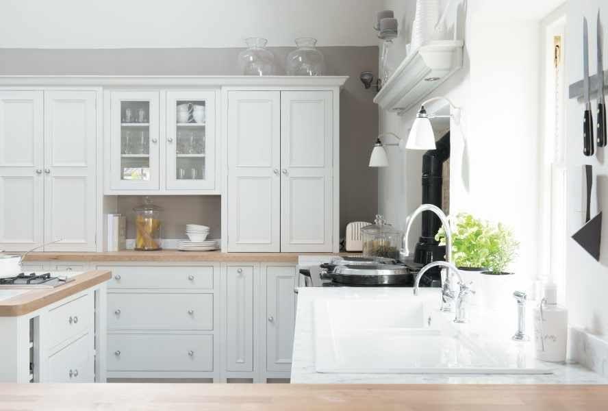 Berühmt Bq Weiß Glanztüren Platte Küche Bilder - Küchenschrank Ideen ...