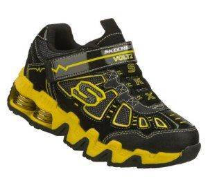 Women's Skechers Mega Flex: Voltz - Yellow/Black