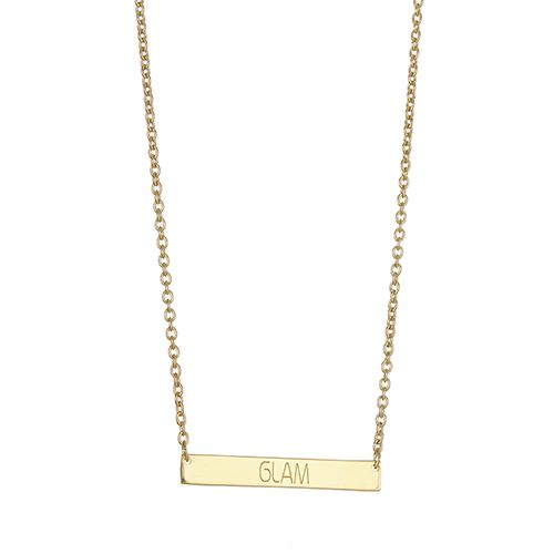 GLAM BAR NECKLACE.