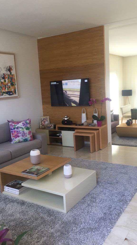 Interieur Sur Mesure Sejour Salon Moderne Table Basse Buffet