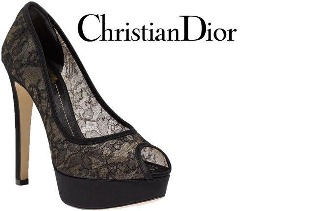 b4945caaf383 Christian-Dior-lace-peep-toe-pump Dior Shoes