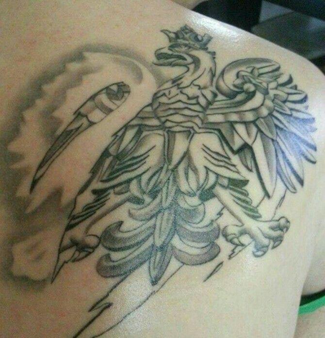 Godło Polski Tatuaż My Ta2 Work Pinterest Tattoos