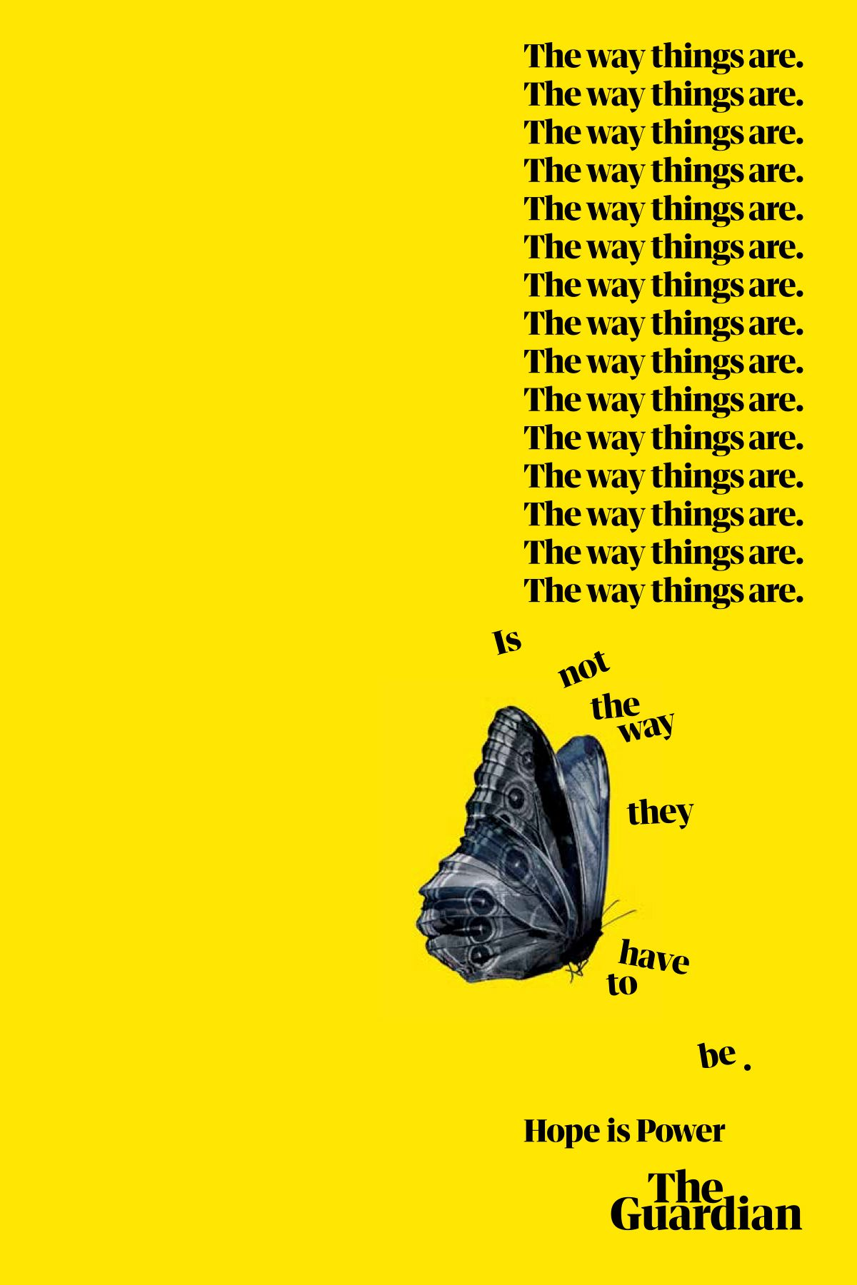 The Guardian's Hope is Power campaign aims to inspire change, Graphic Design Visual Design, #branding, #design, #graphicdesign , #graphic , #typography,  #illustrations, #socialmedia , #business , #new , #learning , #webdesign , #ideas