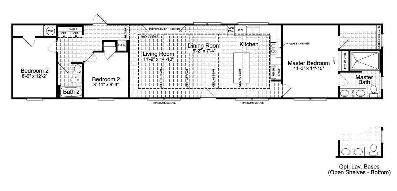 Floor Plan The Santa Fe FF G
