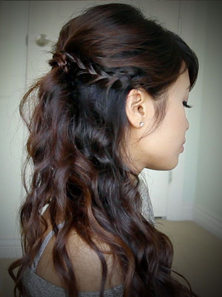 50 Gorgeous Half Up Down Hairstyles Perfect For Prom Or A Formal Event