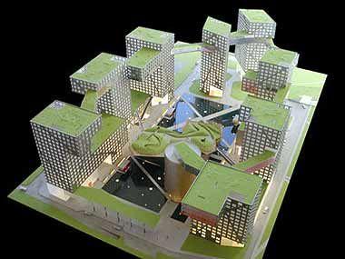 Conjunto habitacional em Bejing - Repertório para projeto III