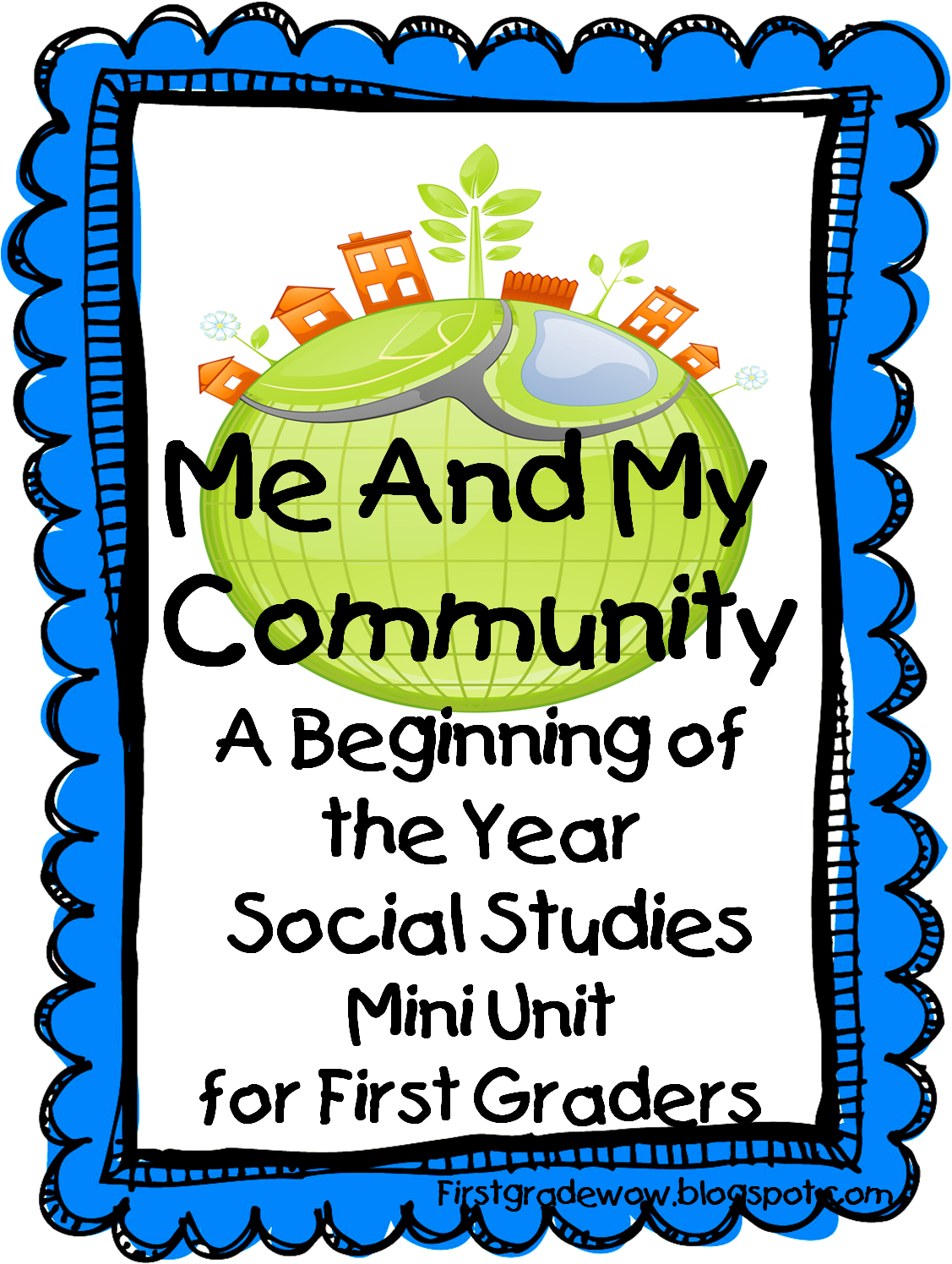 Me And My Community A Beginning Of The Year Social Stu S Mini Unit Freebie Great