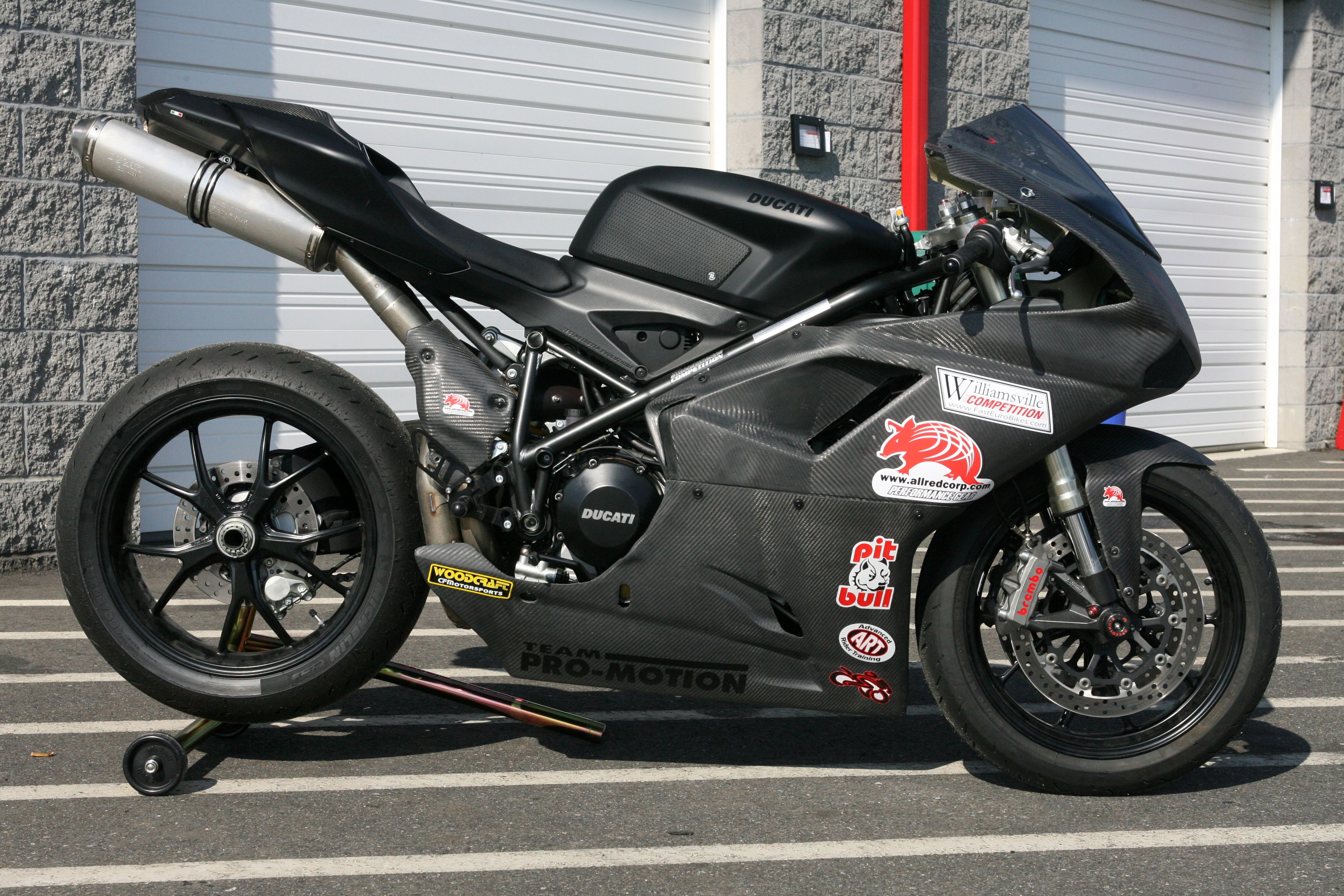 Carbon Fiber Kevlar Race Fairing For Ducati 848evo Fast Light And