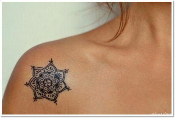 50 Most Wanted Collar Bone Tattoos Small Mandala Tattoo Collar Bone Tattoo Flower Tattoo Designs